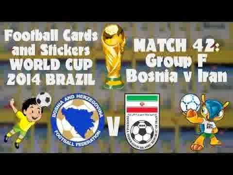 Perkiraan Skor Partai Pamungkas Babak Penyisihan Group F Bosnia Melawan Iran
