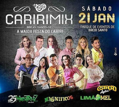 Caririmix em Brejo Santo - CE 21 de Janeiro 2017