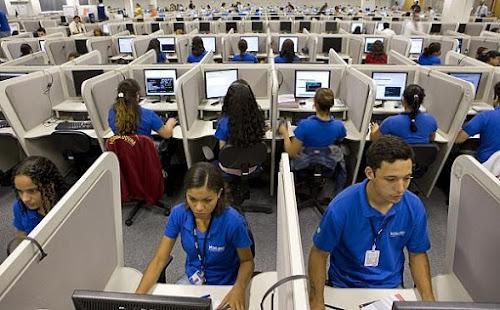 2500 Vagas Urgente - Telemarketing Receptivo - Salário R$ 1520,00 + Comissão