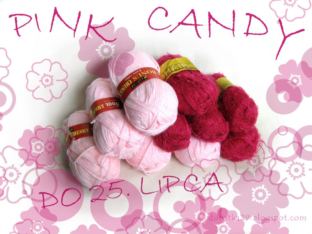 Różowe candy
