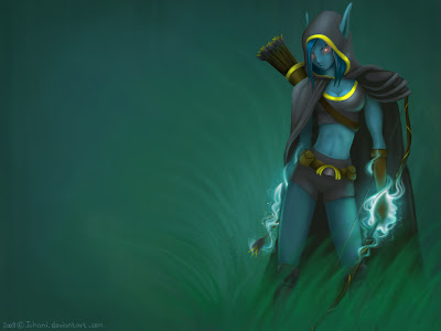 dota_wallpaper_drow_ranger