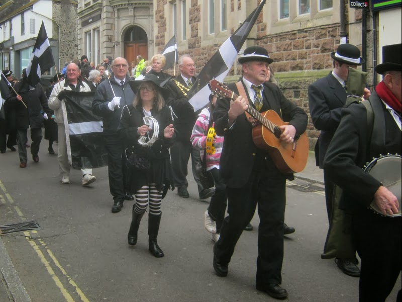St Piran's Day Parade - St Ives