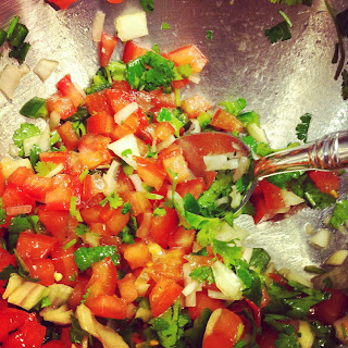 Pico de Gallo on Katy's Kitchen