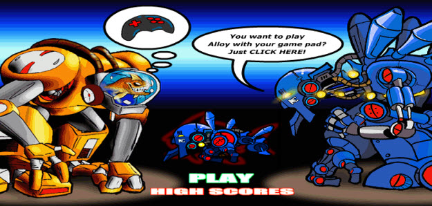 Alloy Arena, Cute Flash Game, Awesome Robotic .SWF FLash Game