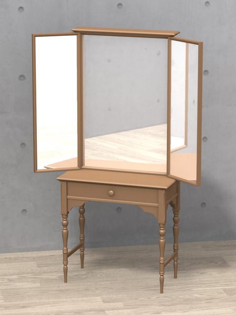 鏡(ミラー) [DS-05] - mirror 3D objects