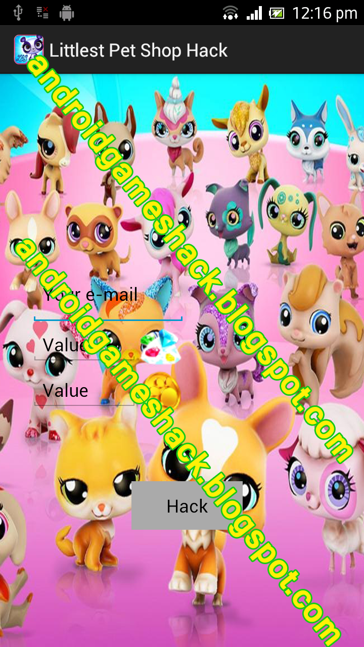 Littlest Pet Shop Android Apk Hack Coins, Crystals/Diamonds