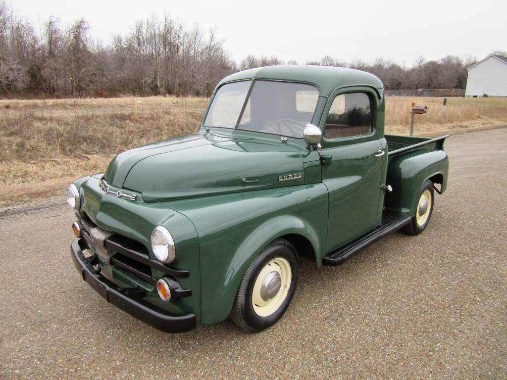 All American Classic Cars 1953 Dodge B Series Pickup Truck 1950s