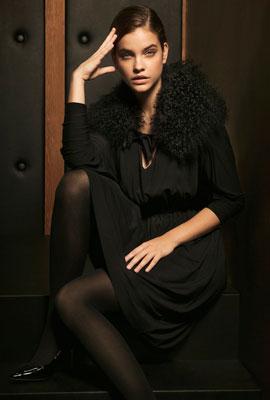 vestidos Massimo Dutti fiesta Navidad negro