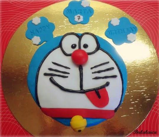 Tarta Doraemon
