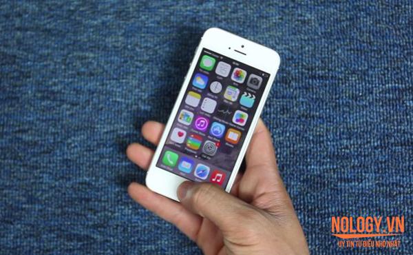 Điện thoại iPhone 5 chưa active trôi bảo hành