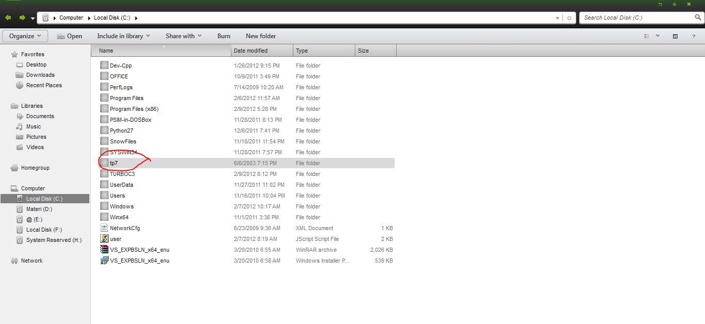 berbagi untuk semua  menjalankan turbo pascal di windows 7