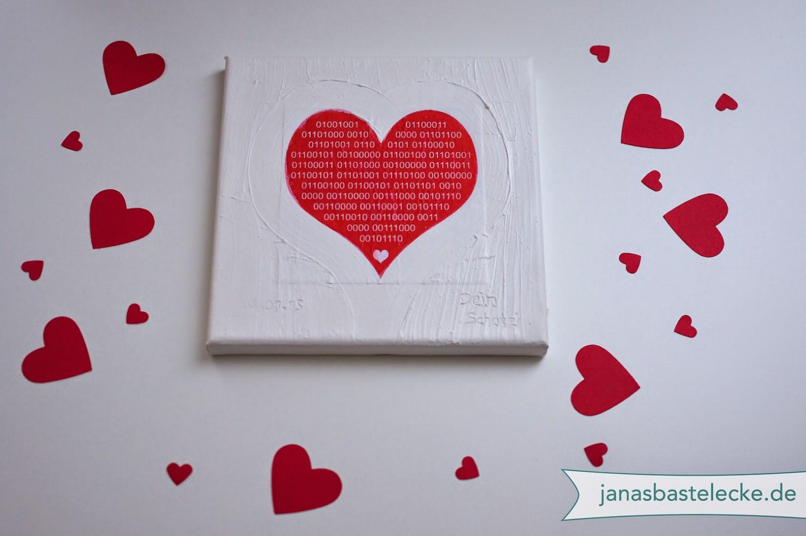 Janasbastelecke geschenk zum jahres valentins for Geschenk fa r freund selber machen