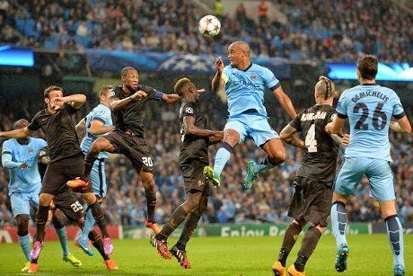Liga Champions : AS Roma Yakin Kalahkan City