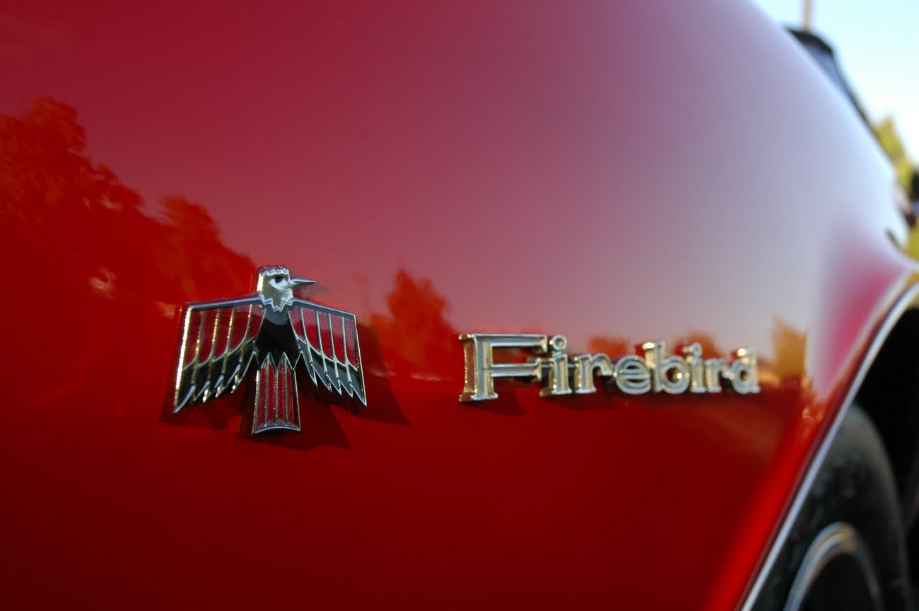 Old Parked Cars 1968 Pontiac Firebird Convertible