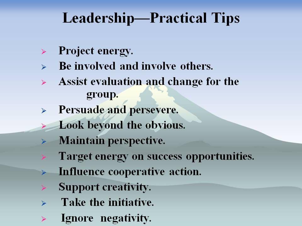 successful military leadership traits essay