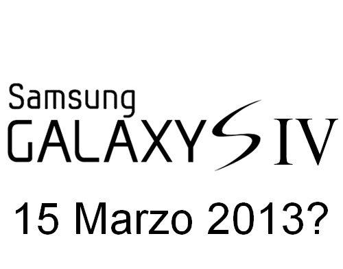 Svelata una possibile data dell'evento Unpacked dove si presenterà il nuovo Samsung Galaxy S 4