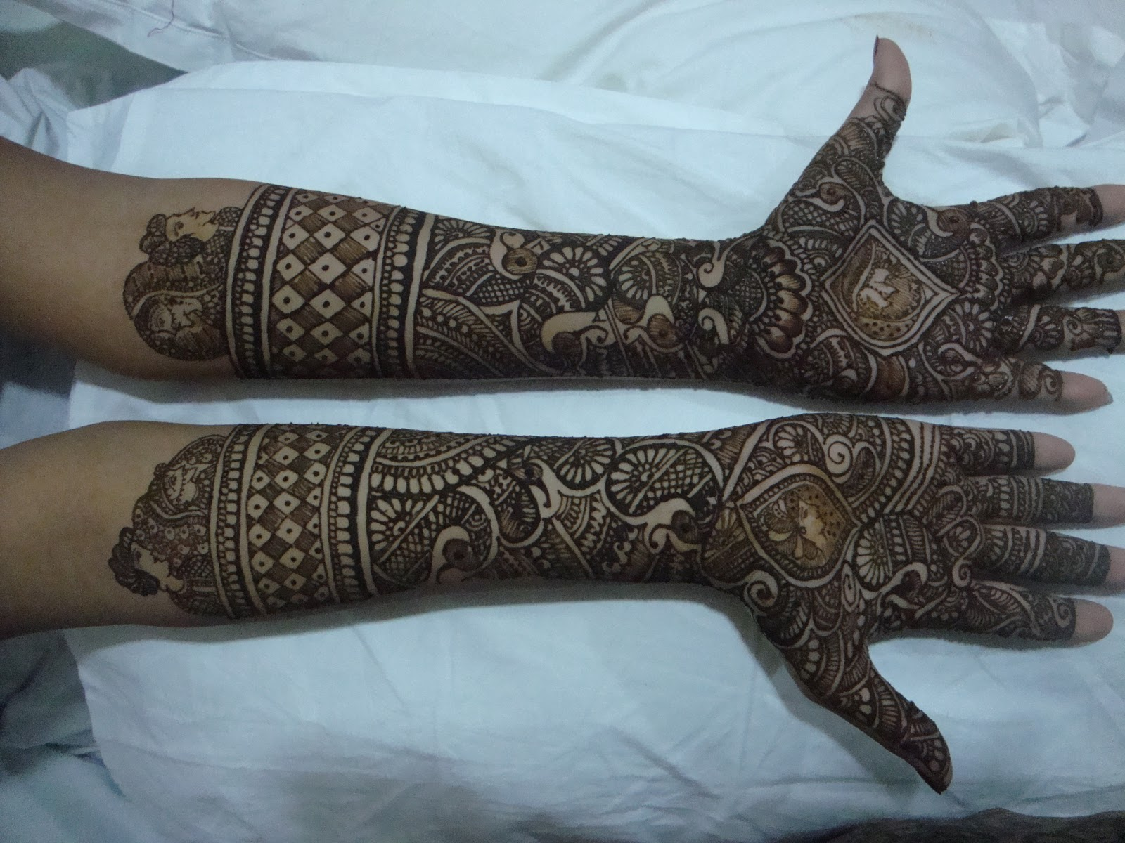 Mehndi Designs Hands Photo Gallery : Latest dulhan mehndi designs for hands makedes