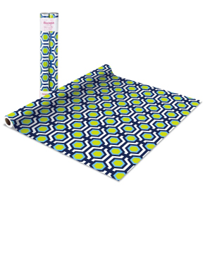 green and blue octagon macbeth shelf liners