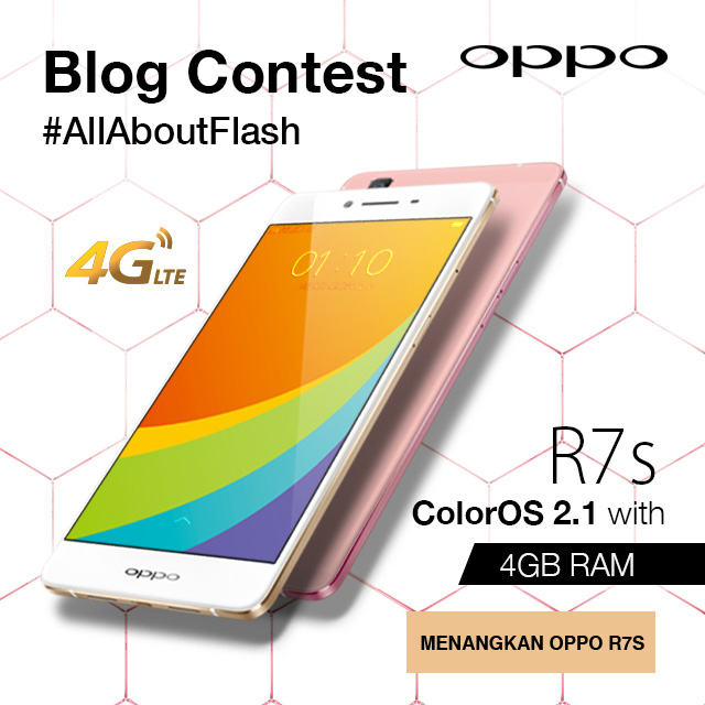 All About Flash, OPPO R7s