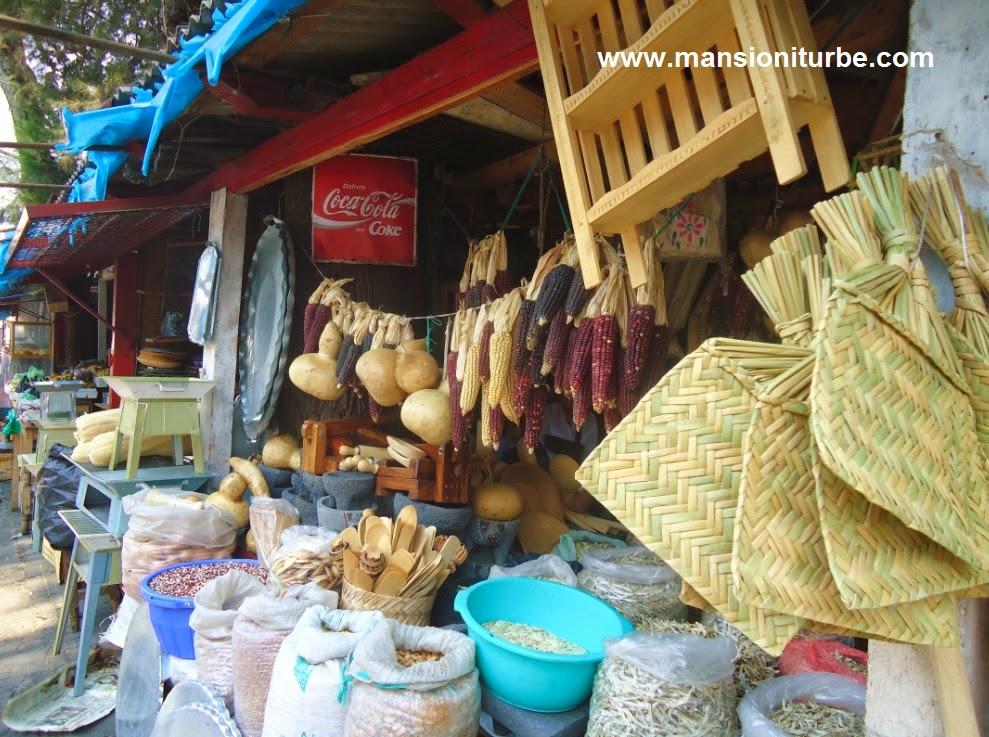 Productos típicos de la Región del Lago de Pátzcuaro