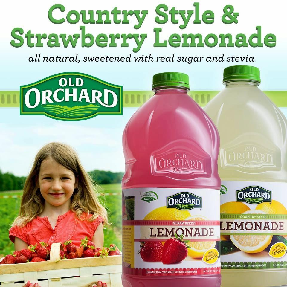 Old Orchard lemonades