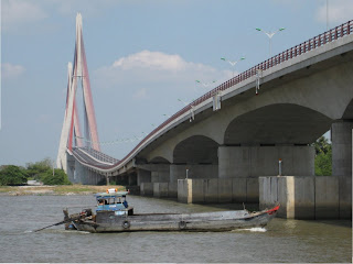 The Can Tho Bridge - Vietnam