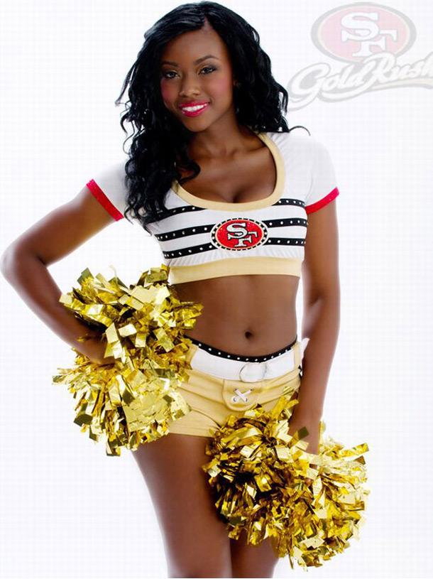 As Cheerleaders Do Super Bowl