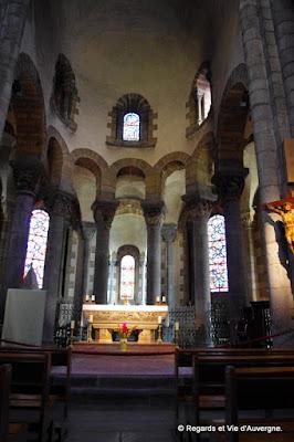Eglise saint Joseph de La Bourboule, Puy-de-Dôme, Auvergne.