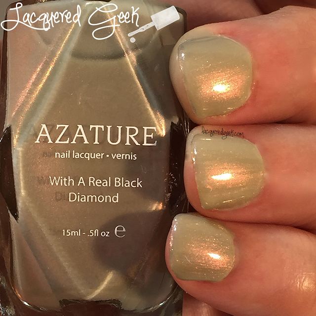 Azature Opal Diamond nail polish swatch and review