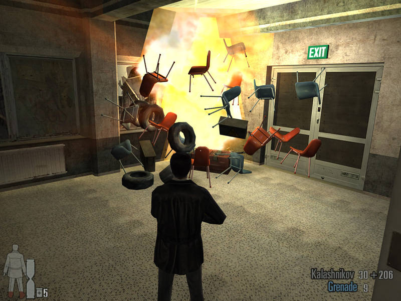 Max Payne 2 Game ScreenShot