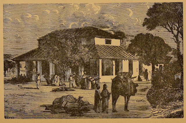 Travellers'-Bungalow+India+Illustration+1876