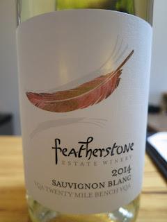 Featherstone Sauvignon Blanc 2014 - VQA Twenty Mile Bench, Niagara Peninsula, Ontario, Canada (89 pts)