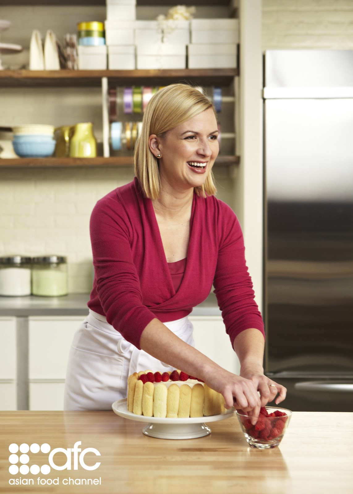 Chef anna olsons fresh flavours tour presented by the asian food canadian chef anna olson cooking show asian food channel tortire pumpkin brule forumfinder Choice Image