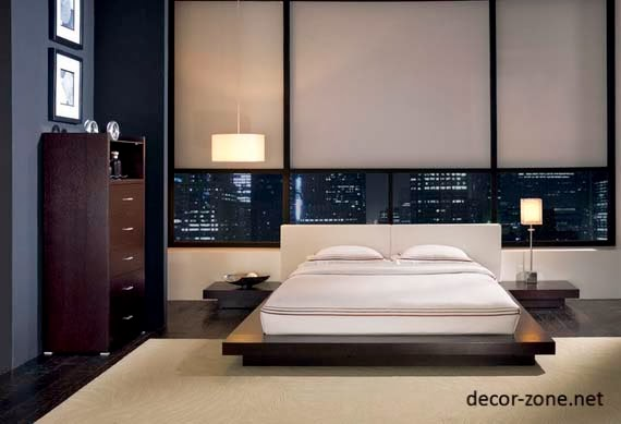 25 bedroom designs in japanese style : lighting, colors and