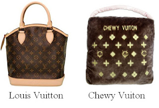 Louis Vitton Chewy Vuiton trademark dilution 2012 infringement haute diggity dog case