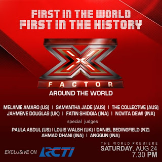 Ini Dia Teman Duet Fatin di X Factor Around The World