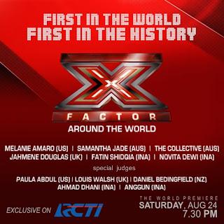 Ini Dia Teman Duet Fatin di X Factor Around The World