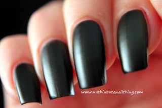 Barry M Matte Nail Paint Espresso