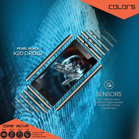 Colors Pearl Black K20 Droid