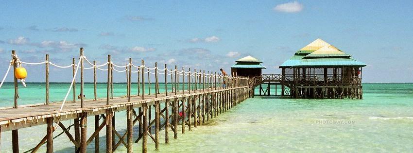 Couverture pour facebook mer Cuba