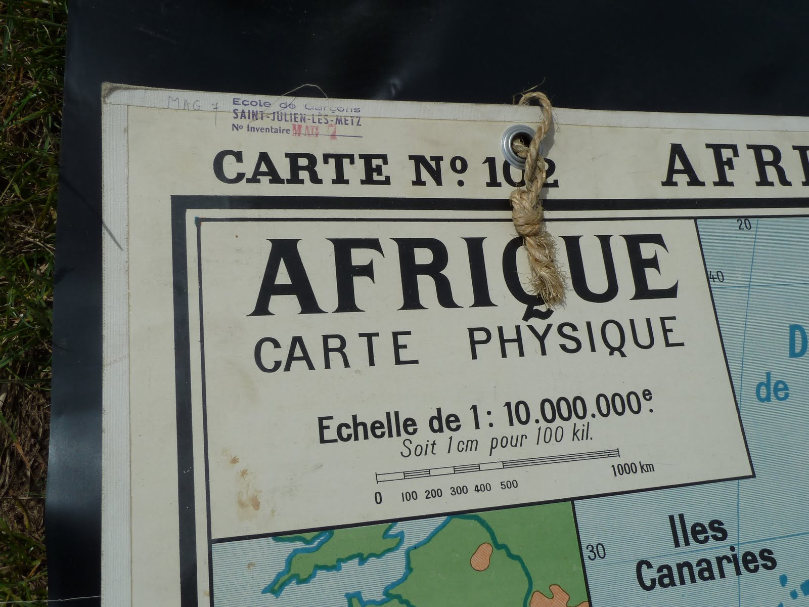 Ecole fmr 1000 affiches scolaires ancienne carte scolaire afrique 1950 - Carte scolaire ancienne ...