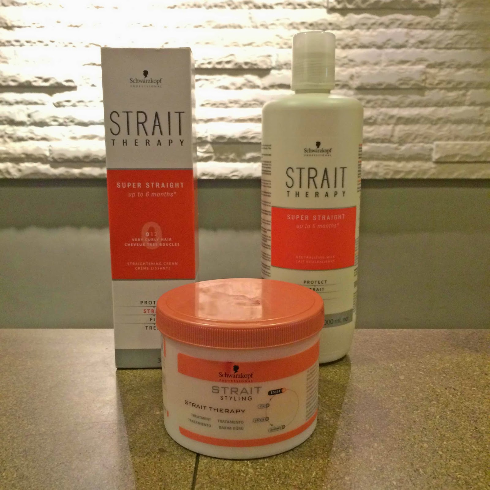 schwarzkopf strait therapy hair products