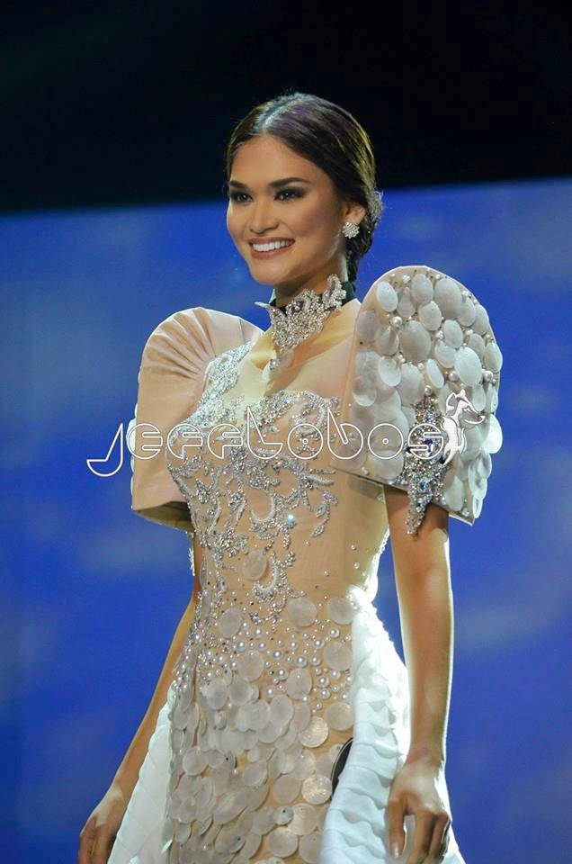 JUST IN: Pia will be wearing an Andrada NatCos creation