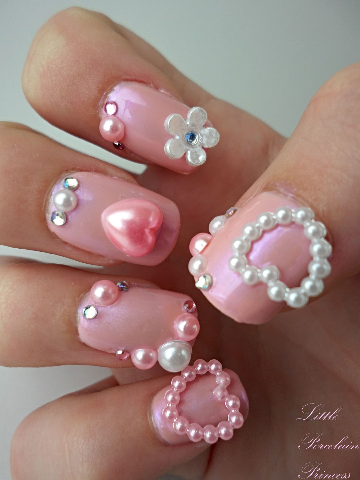 Little Porcelain Princess: Manicure Monday: Japanese 3D Nails