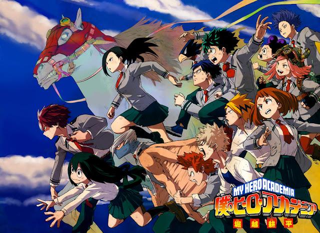 Manga 'My Hero Academia' Akan Dapatkan Sebuah Adaptasi Anime TV
