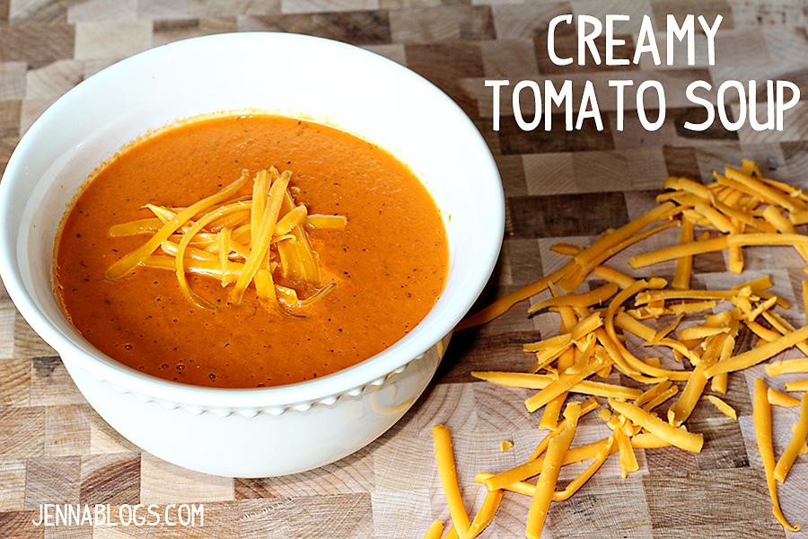 Jenna Blogs: Creamy Tomato Soup