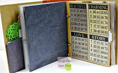 Bingo cards, Snap Book dividers