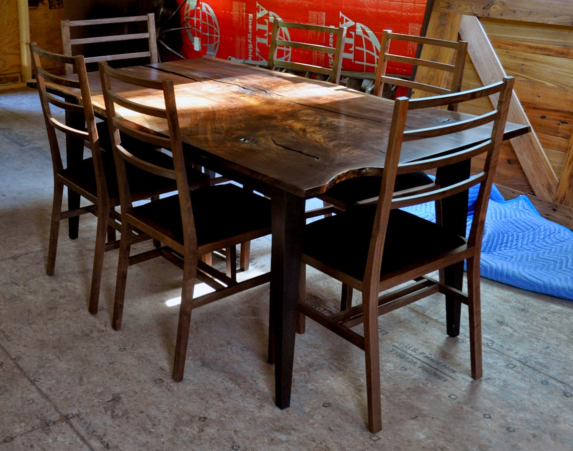 Triangle dining table ashley sofa table with chairs for Furniture 80s band