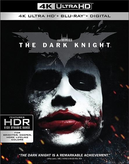 The Dark Knight IMAX 4K (Batman: El Caballero de La Noche 4K) (2008) 2160p 4K UltraHD HDR BluRay REMUX 57GB mkv Dual Audio DTS-HD 5.1 ch
