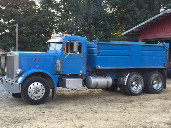 1969 Peterbilt 358 Truck Transfer With Trailer Old Truck